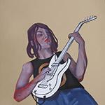 Liesbeth Verhoeven - illustratie gitarist