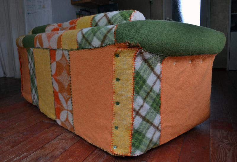 Winterjas van AaBe deken » Atelier Liesbeth Verhoeven