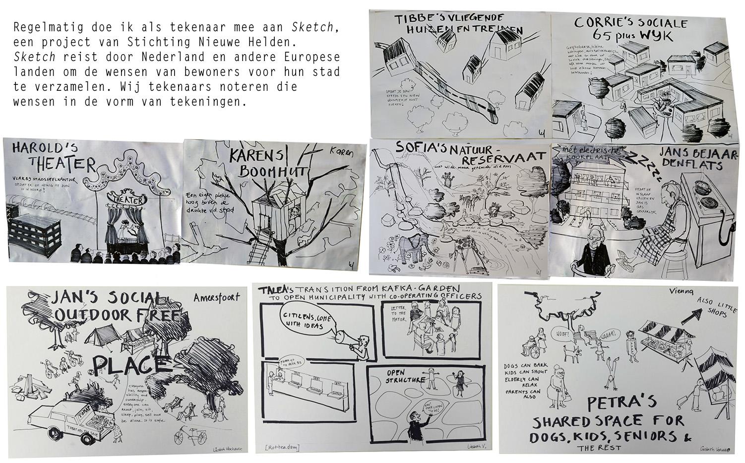 Liesbeth Verhoeven - Sketch met tekst