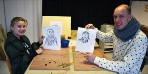 Tekenworkshop Liesbeth Verhoeven