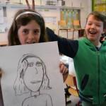 tekenles kinderen portret