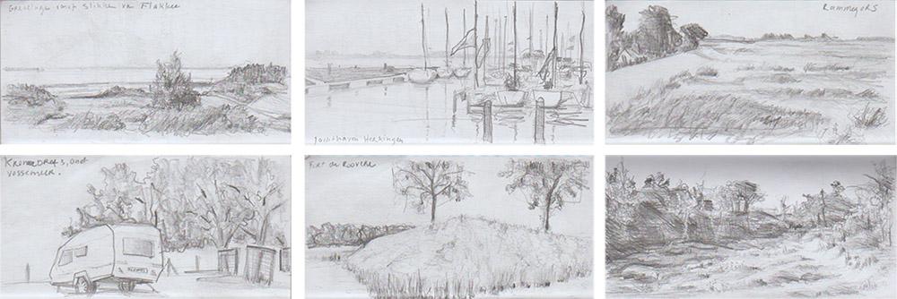 Tekening Liesbeth Verhoeven - Deltapad