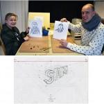 Liesbeth Verhoeven - tekenworkshop ouder kind