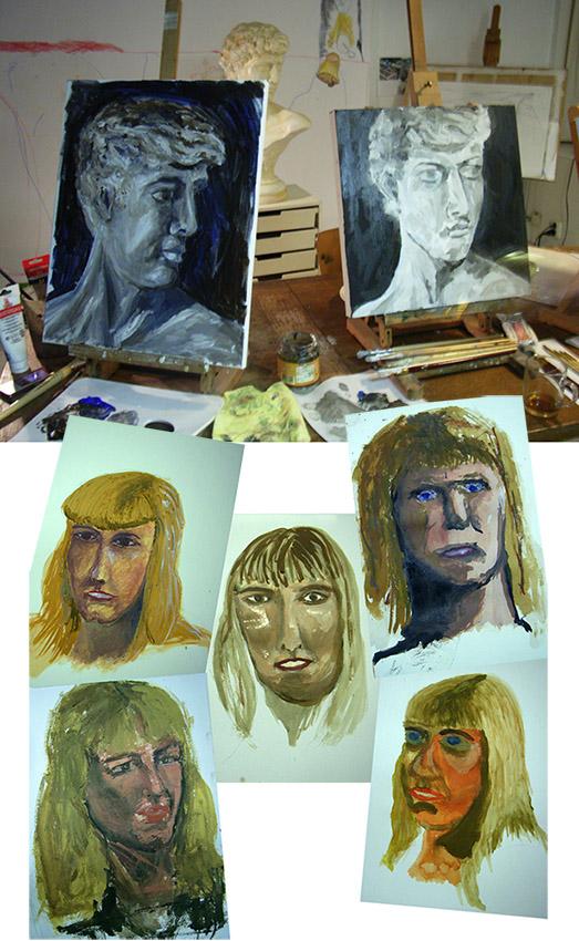Cursus Portretschilderen Start 8 Maart Atelier Liesbeth Verhoeven